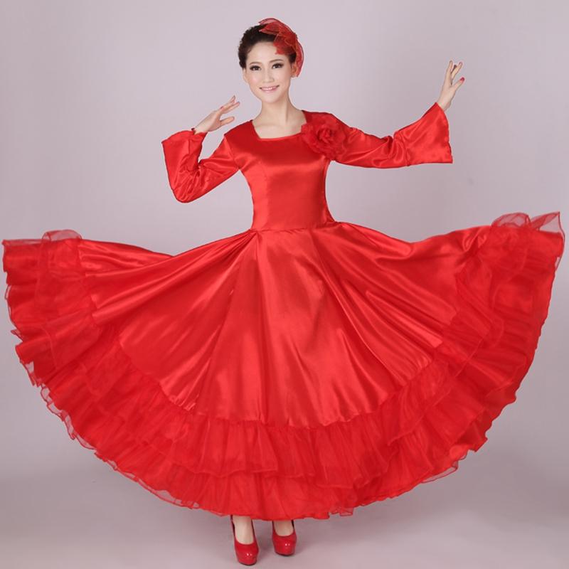 Dress flamenco dress spanish dance costume dress from reliable dresses