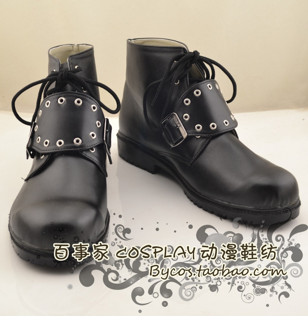 Final Fantasy VIII 8 Squall Leonhart Cosplay Boots Cosplay shoes Custom-MadeОдежда и ак�е��уары<br><br><br>Aliexpress