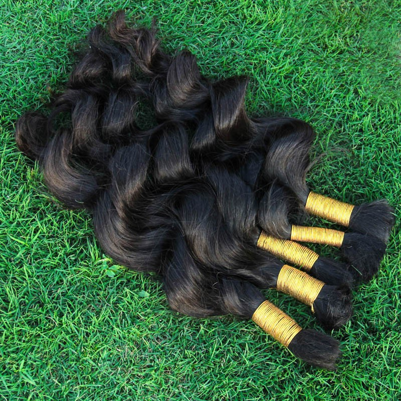 8A Top Quality Unprocessed Virgin  Human Hair For Braiding Bulk  Brazilian loose Wave 1kg  Human Braiding Hair Bulk 12-34inch