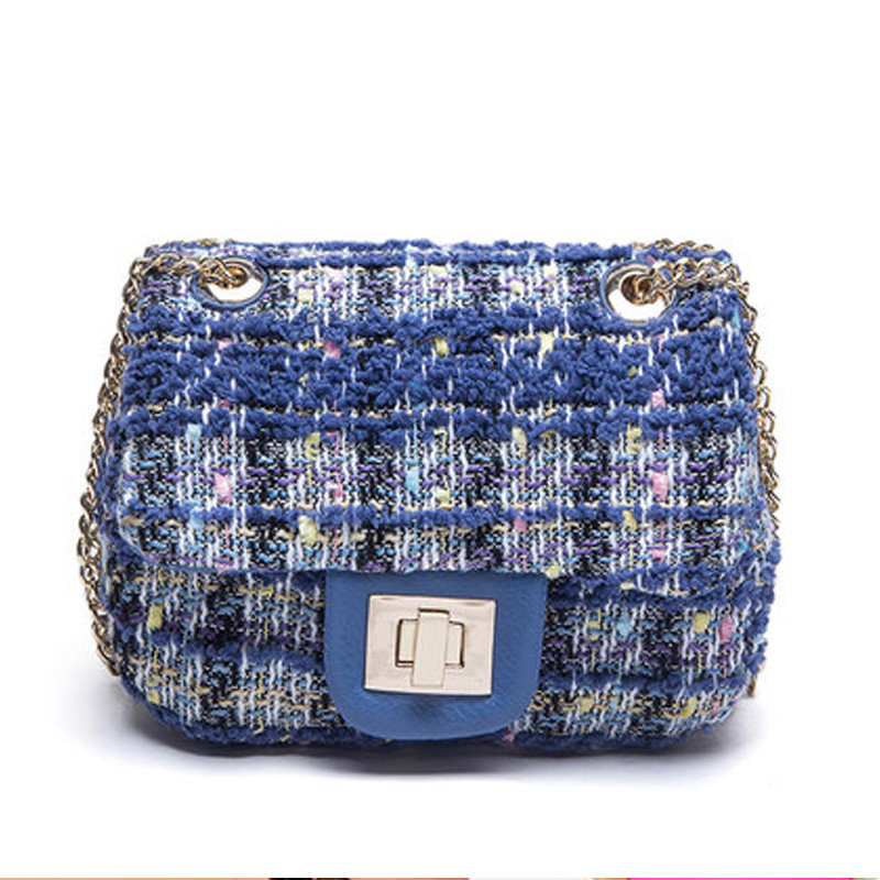 2015 New Arrival Women Messenger Bags High Quality Chains Shoulder Bags Mini Woolen Handbag For Girls Cute Flap Bag Famous Brand<br><br>Aliexpress