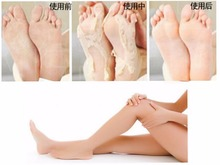 2PCS/bags New hot Free shiping Milk bamboo vinegar remove dead skin foot skin smooth exfoliating feet mask foot care
