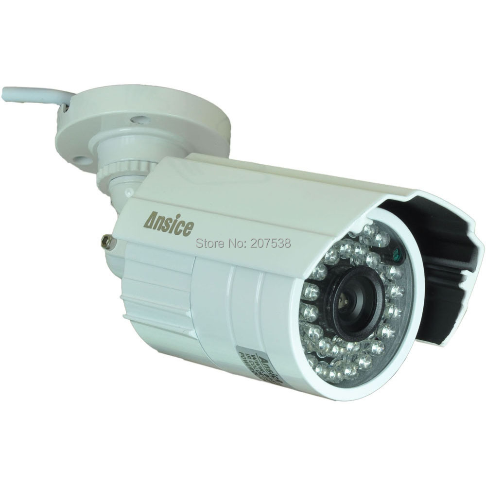 --wide angle 2.8mm lens CCTV camera outdoor 700TVL 1/3 inchSONY EFFIO-E CCD infrared 24LED Night Vision waterproof - ansice-cctv store