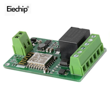 1Pcs Green ESP8266 10A 220V Network Relay WIFI Module Input DC 7V~30V 65x40x18mm Modules New Arrival(China (Mainland))