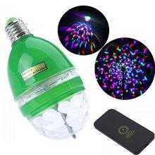 Imc Hot LED RGB gyrophare avec Sound activé à distance scène DJ lumière E27(China (Mainland))
