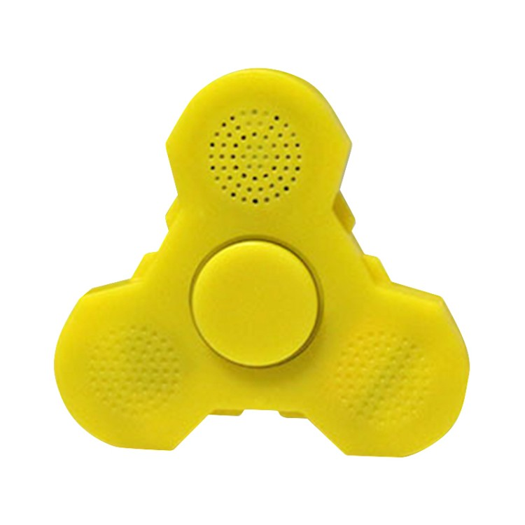 Luminous Flash Bluetooth hand Speaker Fidget finger Spinner spiner Stress Relieve autism Toys hand skinner for Smartphones Gift