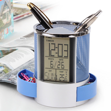 Fashion cute stationery ornaments wholesale custom multi-function electronic calendar creative pen(China (Mainland))