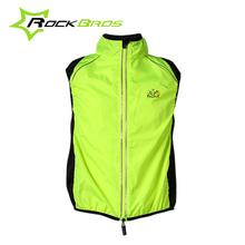 ROCKBROS Tour de France Cycling Sportswear Men Jerseys Cycle Clothing Windcoat Breathable Bike Jacket Sleeveless Vest 4 Colors