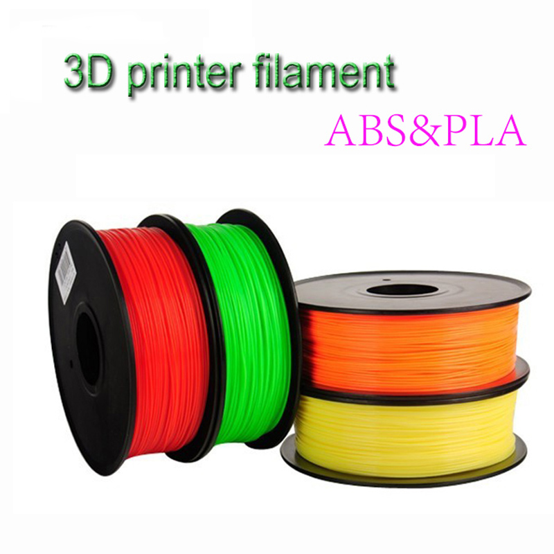 Hot 3d printer filament 1.75mm ABS/PLA 0.5KG plastic Rubber Consumables 3d printing Material for Createbot,Makerbot,RepRap(China (Mainland))