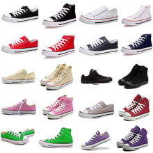 new Unisex Men Women Low High Style Canvas Shoes Clasic Casual Sneakers for women,Board star Shoes all size 35-45 #145(China (Mainland))