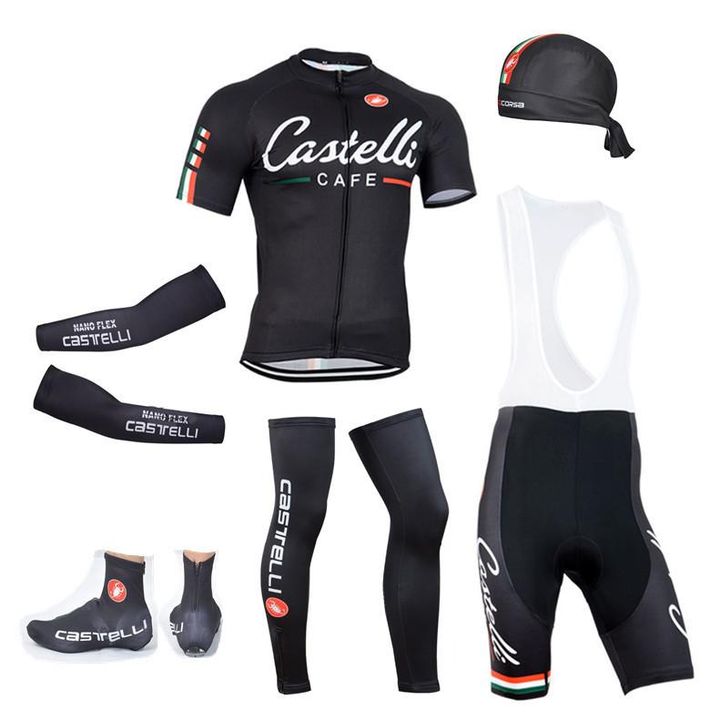 2015 team Cycling Jersey Short sleeve ropa ciclismo 2015 MTB Bike Jerseys&GEL bib shorts&Scarf&Caps&Arm Warmers&Leg Warmers(China (Mainland))
