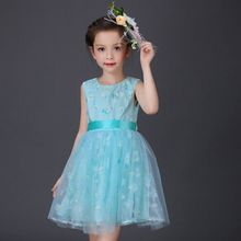 Chrismas Baby Girl Princess Party Lace Tulle Flower Gown Fancy Dress Sundress