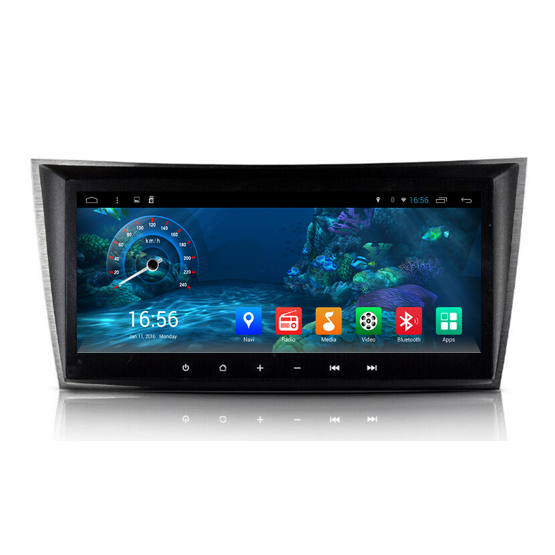 8 8 android 4 4 car stereo audio autoradio head unit for Mercedes benz app for android
