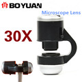 Universal 30X Optical Zoom Mobile Phone Lens Microscope Macro Lens Magnifier Camera Lens For iPhone 5