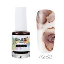 Rosalind Blossom Kuku Gel Polandia 12 Ml Desain Gel Semi Permanen Lampu UV Rendam Off Mekar Gel Lacquer Kuku seni Manikur(China)