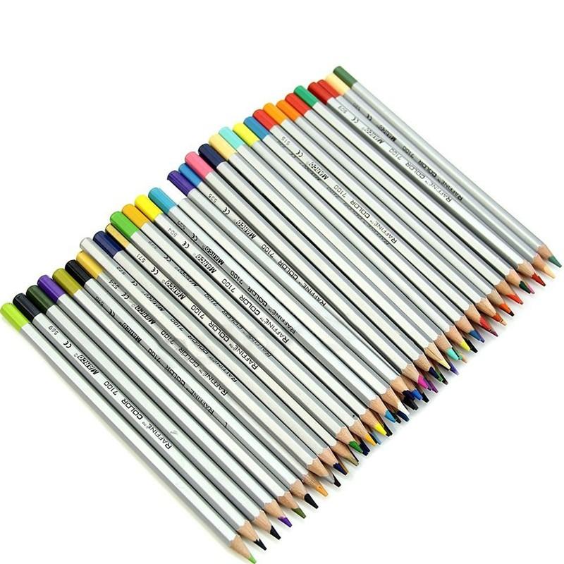 Marco 72 Colored Pencil Raffine Fine Art Pencils For ...  Prismacolor