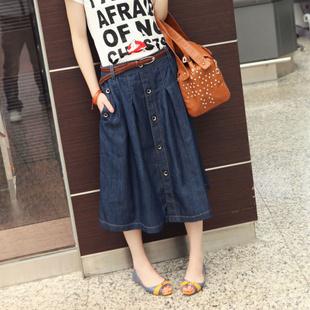 1021 XXXL лето англия отпуск трапециевидный большой подметание женщины деним джинсы ...