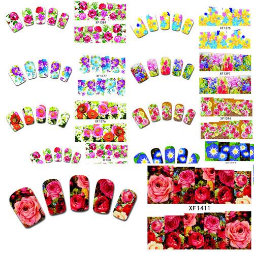 Наклейки для ногтей Leslie's store 20 DIY xf1372/1391 XF1372-1391 кисточка для ногтей yifu store 1 2ways diy nao10