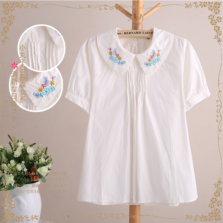 Cotton Summer Blouse 68