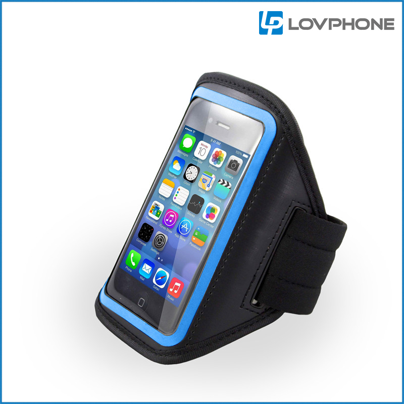 Lovphone Adjustable Waterproof Running Armband Case for iphone 4 for Applephone 4 Phone Arm holder Outdoor Activity(China (Mainland))
