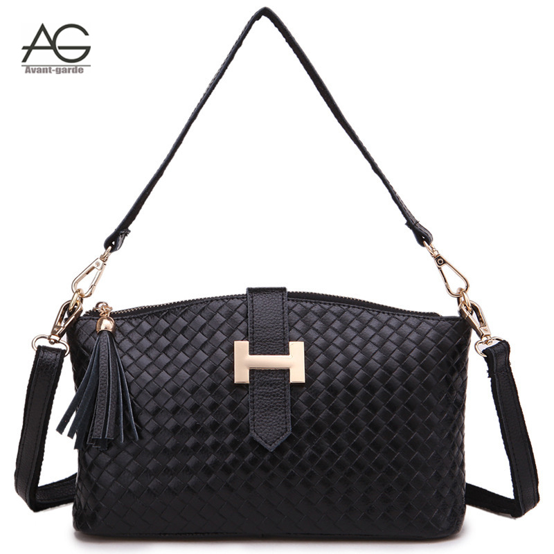 Hot Sale women messenger Bags leather handbags women bags cross body shoulder bag genuine leather bags bolsas femininas WM030<br><br>Aliexpress