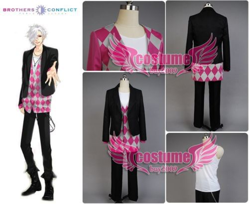 Brothers Conflict Tsubaki Asahina Cosplay Costume UniformОдежда и ак�е��уары<br><br><br>Aliexpress