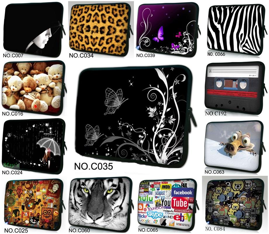 """14"""" inch Colorful Laptop Carry Sleeve Case Bag Cover For 14"""" Sony VAIO/CW/CS PC /Apple Macbook Pro 15""""(China (Mainland))"""