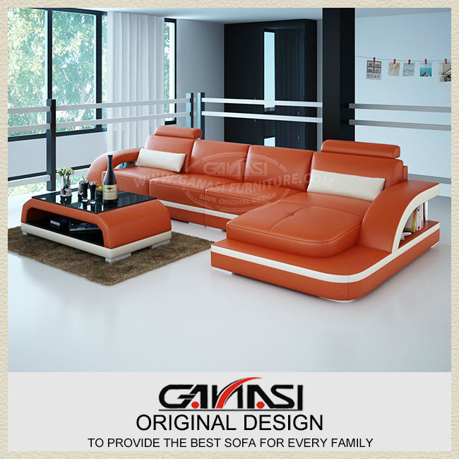 New design real leather sofa 6 seater sofa set royal for 7 seater living room set
