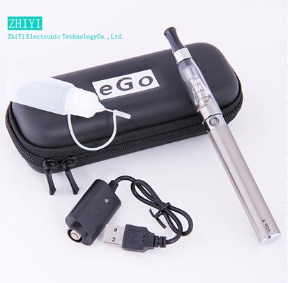 Electronic cigarette kits Atomizer 650mAh 900mAh 1100mAh ego ce4 vaporizer charger Battery Zipper Carry Case(China (Mainland))