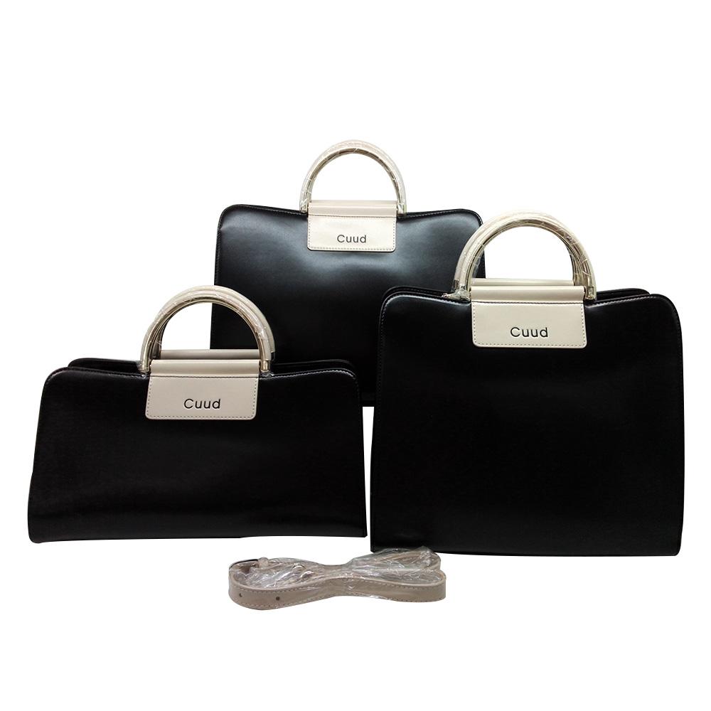 Womens Genuine Cowhide Leather Handbag Satchel Shoulder Bag Crossbody Bag Black<br><br>Aliexpress
