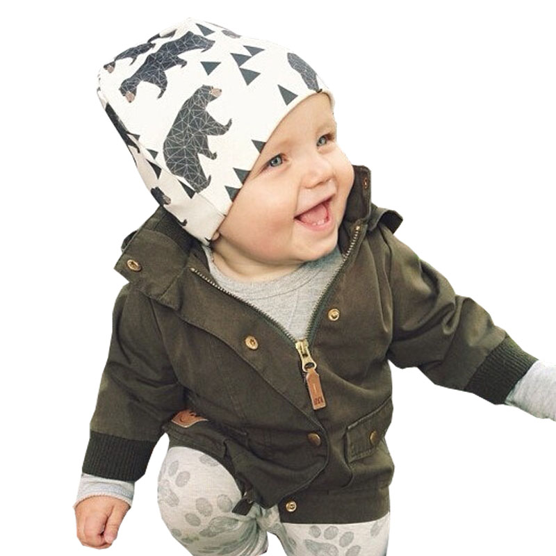 2016 New Fashion Autumn Baby Hat Knitted Warm Cotton Baby Cap Kids Girl Boy Hats & Caps(China (Mainland))