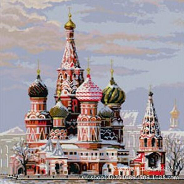кремле вышивки крестом из