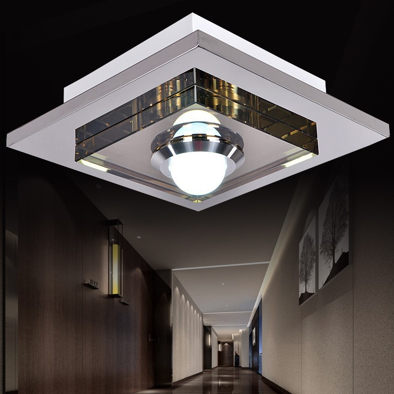 modern ceiling stainless steel creative ceiling lamps