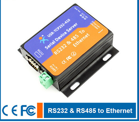 Serial RS232 RS485 to LAN Server Support TCP Server, TCP Client, UDP, UDP Server, HTTPD Client,web socket(China (Mainland))