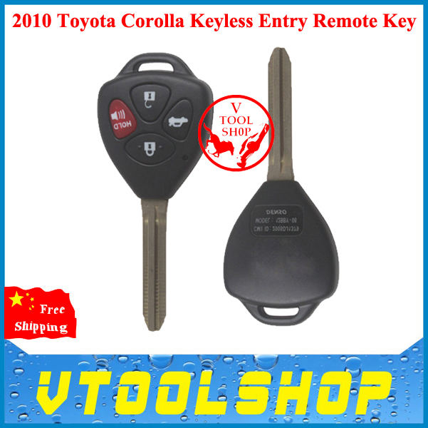 2014 New Arrival! Super 2010 Toyota Corolla Keyless Entry Remote Key Brand OEM Combo - VTOOLSHOP store