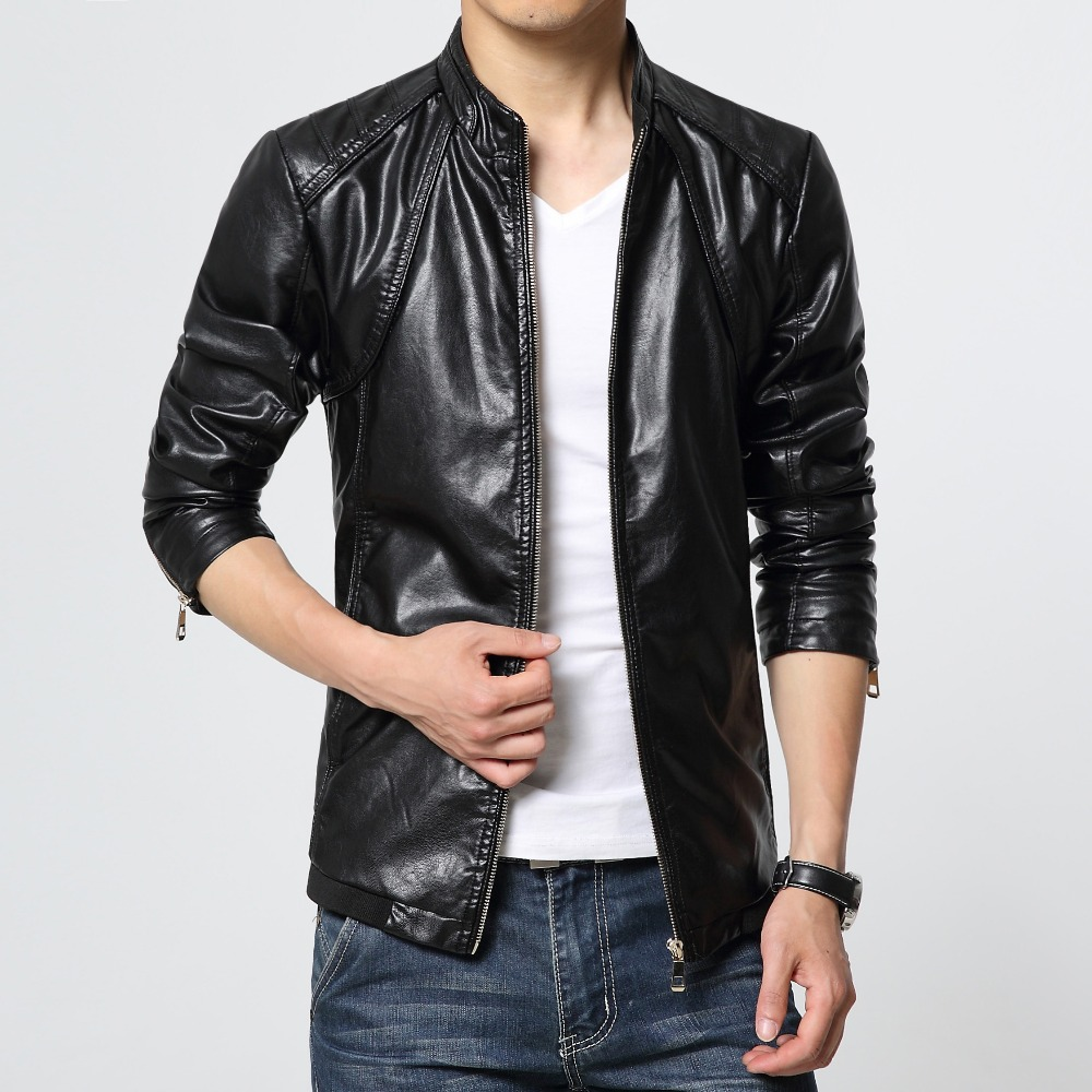 buy men leather jackets and coats red. Black Bedroom Furniture Sets. Home Design Ideas