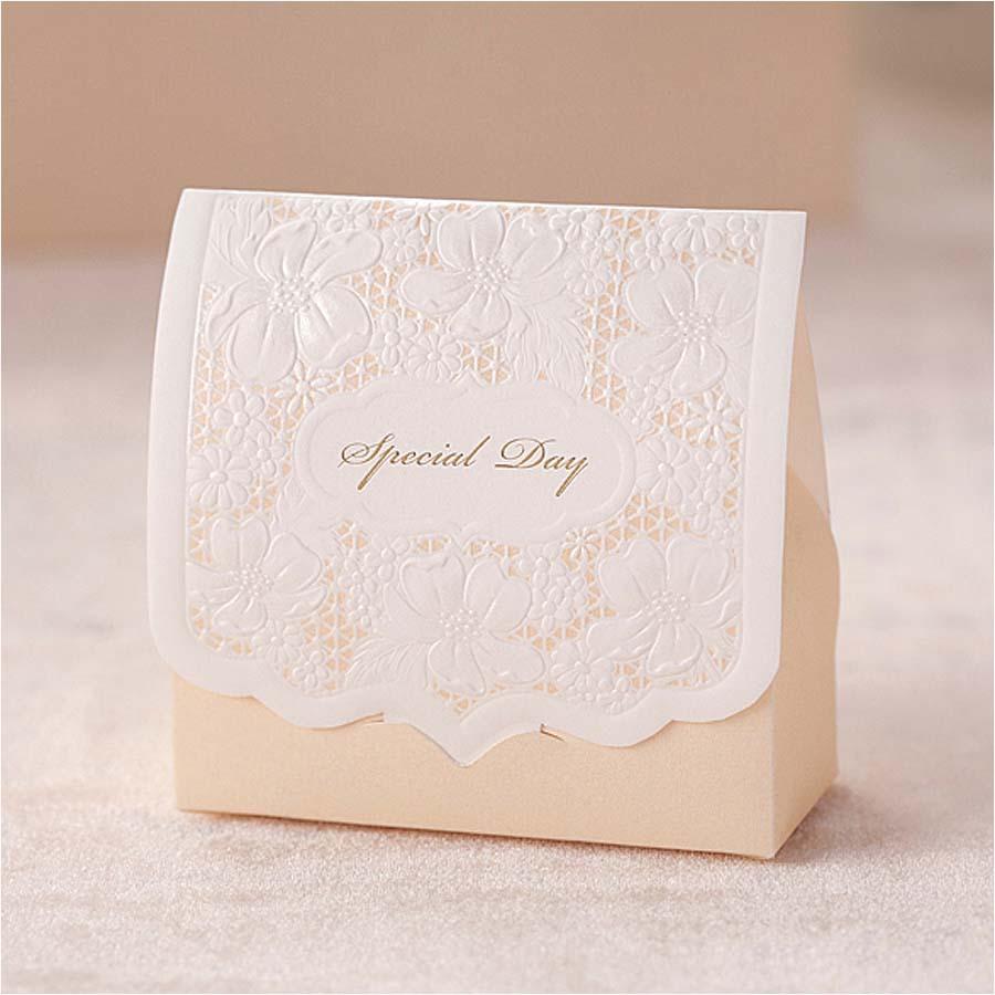 cut wedding favor boxes wedding candy box casamento wedding favors