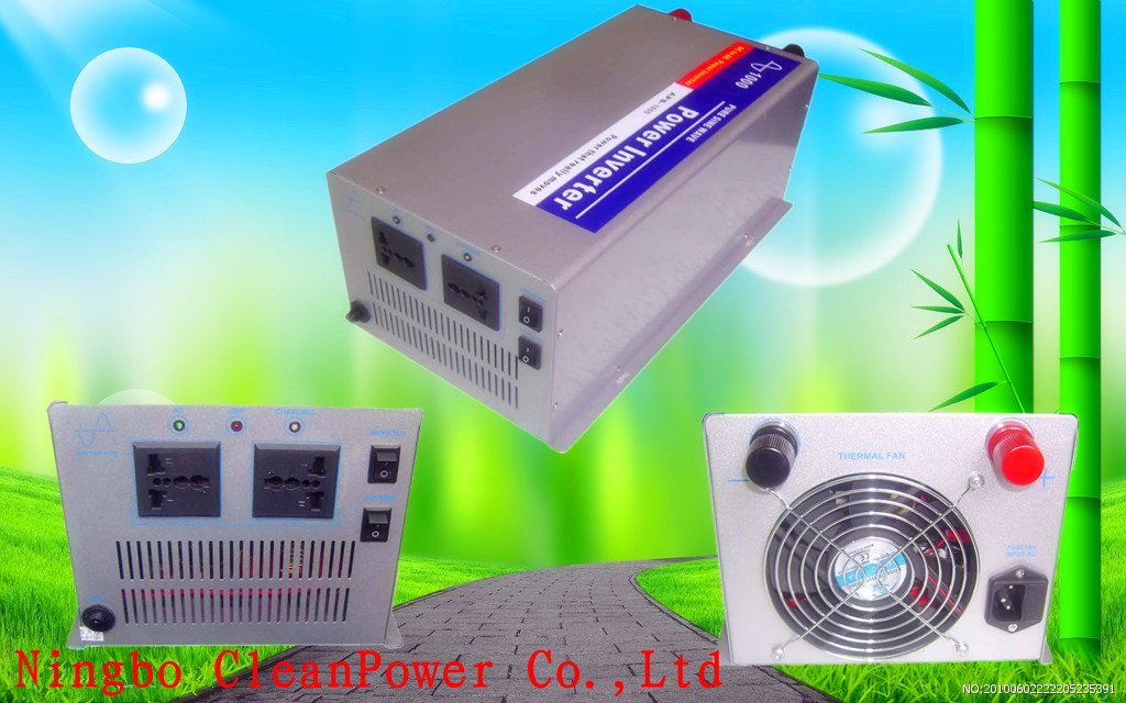 NEW! UPS, 1000W Pure Sine Wave Inverter With Charger, DC12V Inverter With Battery Charge 10Amp(China (Mainland))
