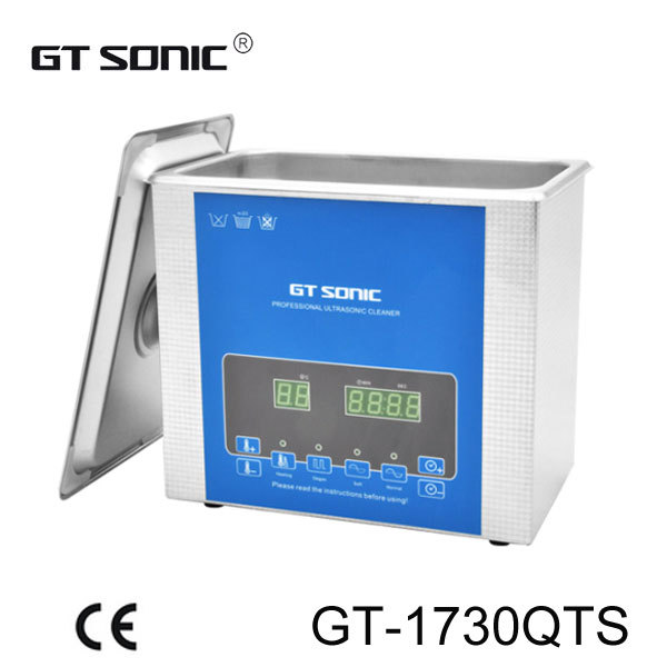 GT SONIC Stailess Steel SUS304 Industry ultrasonic cleaner for Nozzle cleaning GT-1730QTS(China (Mainland))