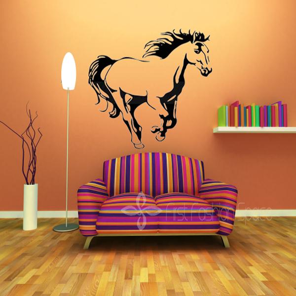 Galloping Horse Wall Murals Wall Art Cavalo Animal Poster