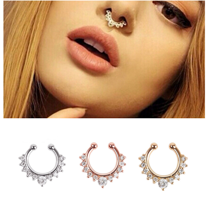 new arrival alloy nose hoop nose rings piercing
