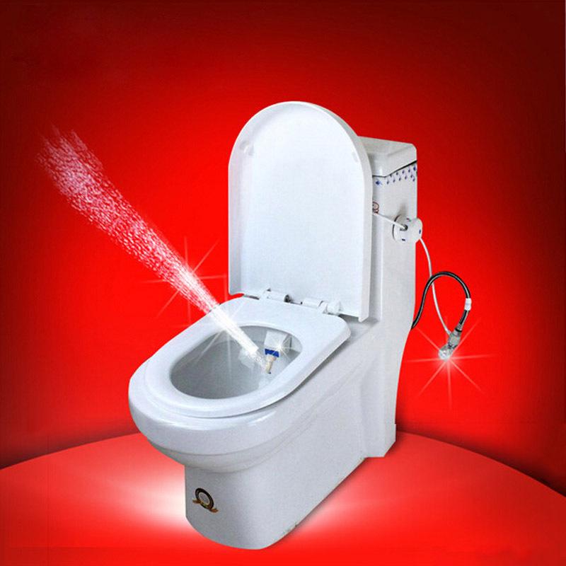 Eco-friendly Vagina Cleaner Toilet Bidet No Electric Self Cleaning Sanitary Hygienic American Asian European Standard Bidet Seat(China (Mainland))