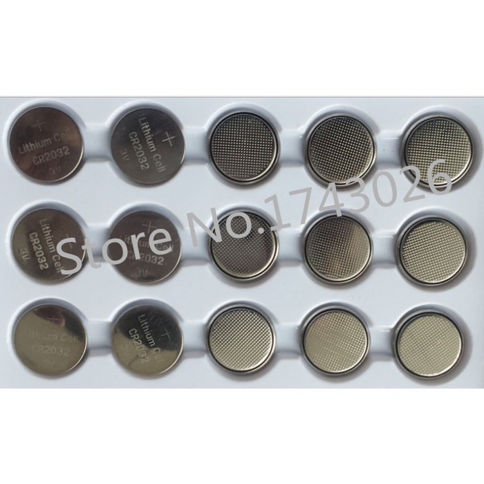 Good quality CR2032 DL2032 CR 2032 Lithium Cell Button Battery for Appliances(25 PCS) package mail(China (Mainland))