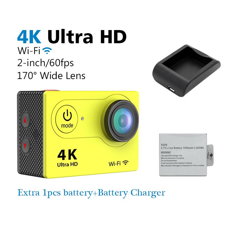 EKEN H9 Ultra Full HD WiFi 1080P 2.0 LCD Sport DV Video 4K Action Cameras Underwater Helmet Cam waterproof SJ 4000 pro style(China (Mainland))