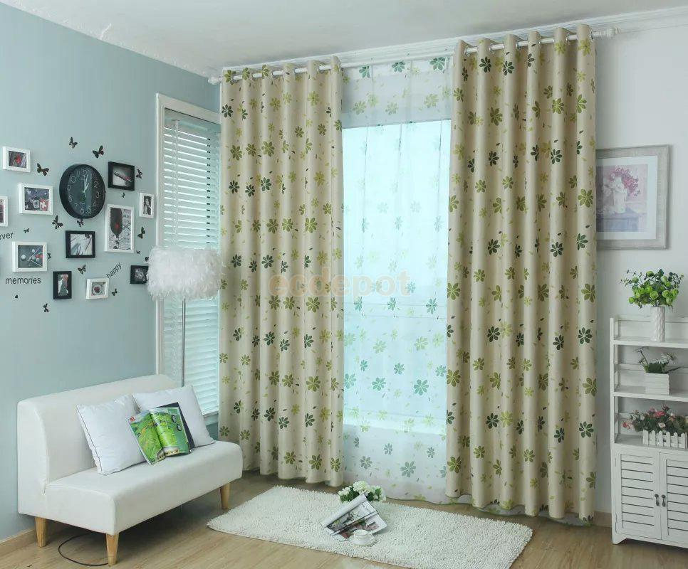 Green valance promotion shop for promotional green valance - Green curtain patterns ...