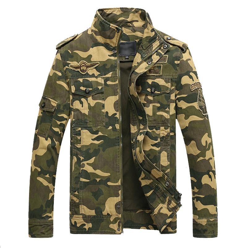 M-2XL Military jacket men Camouflage jacket Sport jaqueta mens jackets and coats outdoor coat men clothes army Cotton 2015