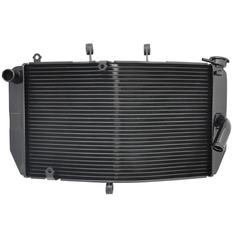 Motorcycle Aluminum Cooling Radiator For Honda CBR600 RR 2003 2004 2005 2006 CBR600RR 03 04 05 06 Motor Cooler Parts Black Color(China (Mainland))
