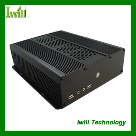 Iwill Mini ITX Aluminum Alloy Case S120 for Industrial PC, Car PC(China (Mainland))
