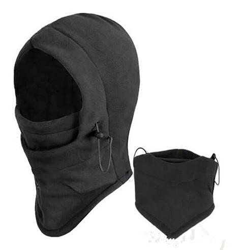 Hot Sale Thermal Fleece Balaclava Hood Police Swat Ski Bike Wind Winter Stopper Face Mask(China (Mainland))