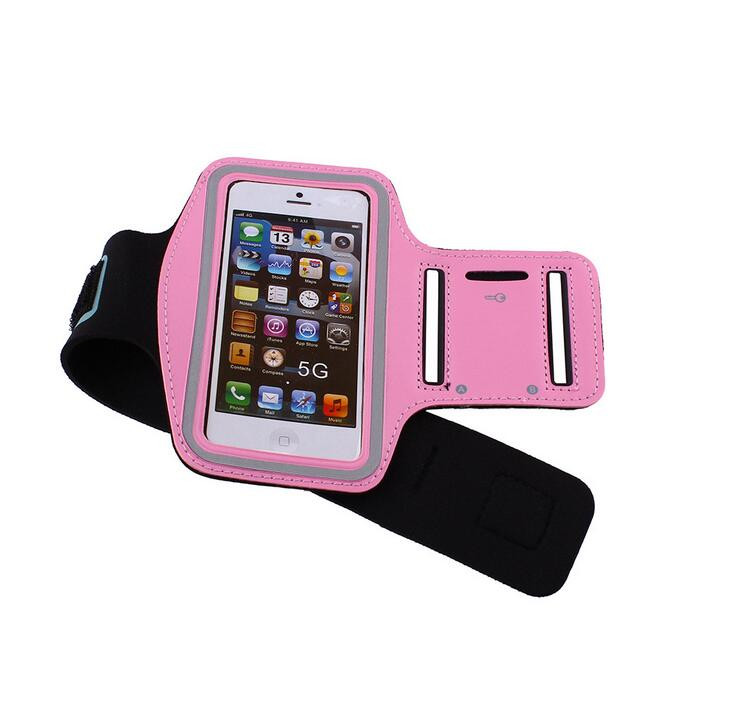 Fashion Waterproof Sport Running Arm Band Case For Apple IPhone 5 5S 5C SE 4 4S Gym Mobile Phone Arm Bags Holder Belt Cover Case
