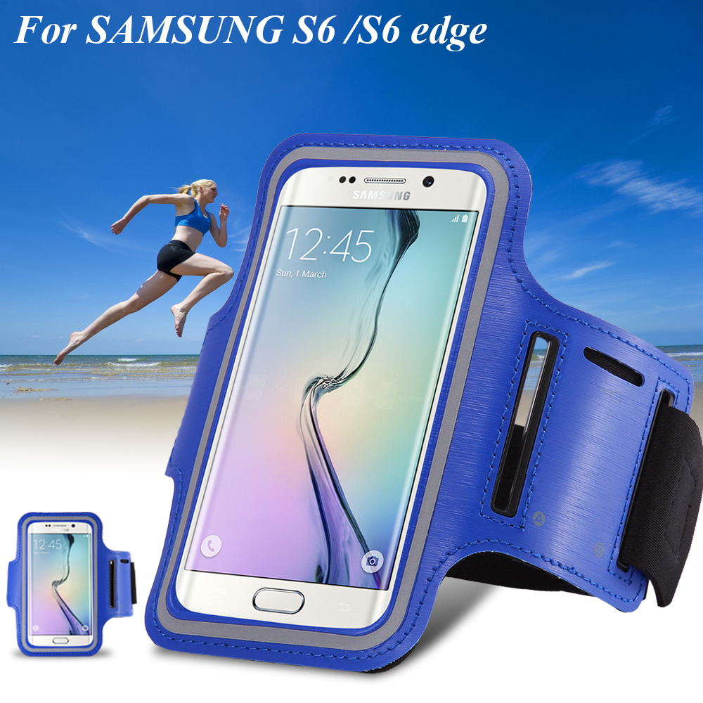 S5/S6 Arm Band Case Holder Pounch Belt Brazalete Deportivo Sport Running Accessories For Samsung Galaxy S3/S4/ S5/S6/S6 Edge(China (Mainland))